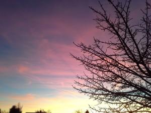 Sunrise in Santa Fe